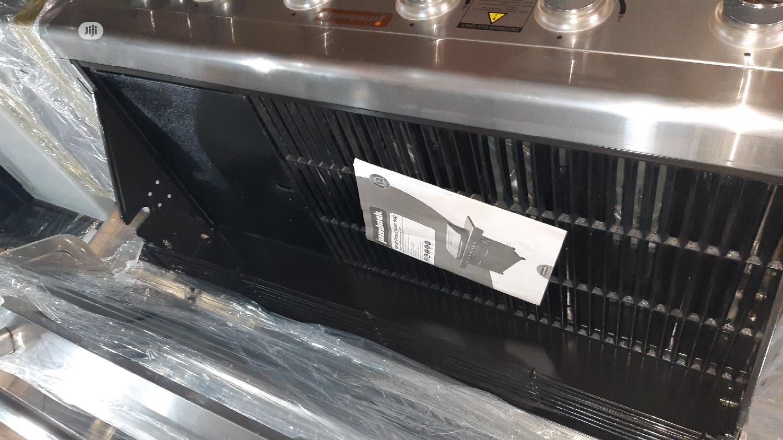 6 Burner Barbecue Machine