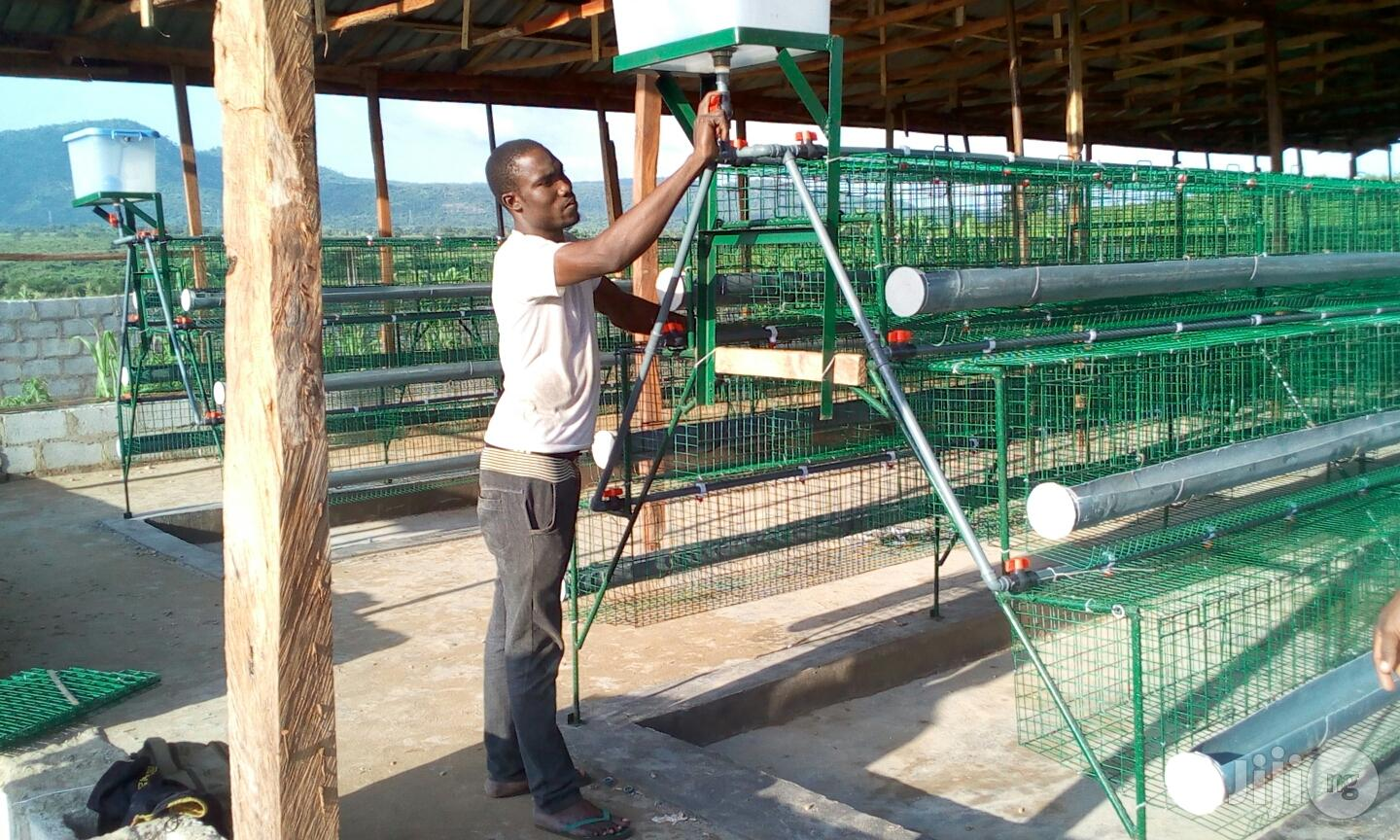 Hopico Battery Cage for Sale | Farm Machinery & Equipment for sale in Gwagwalada, Abuja (FCT) State, Nigeria