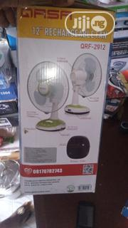 Qasa 12 Rechargeable Table Fan Qrf 2912 | Home Appliances for sale in Lagos State, Ikeja