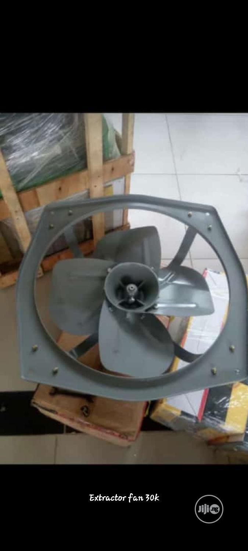 Extractor Fan. Heat Extractor