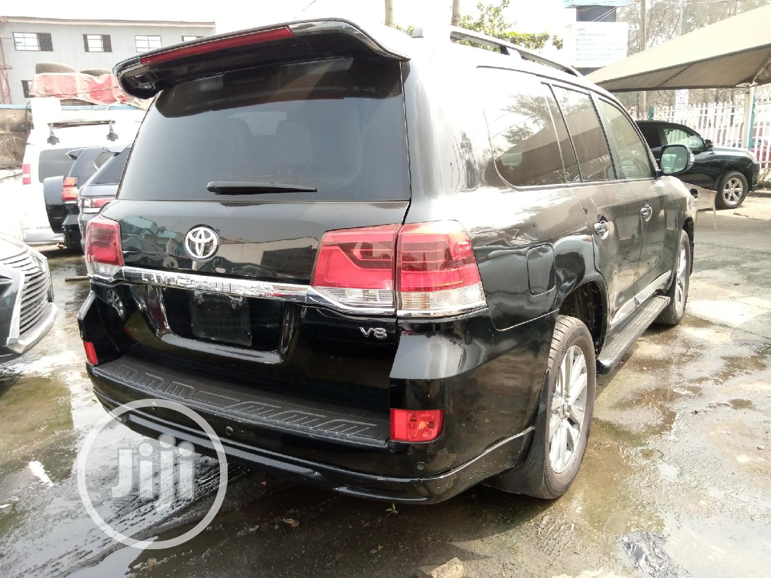 Toyota Land Cruiser 2012 Black | Cars for sale in Ikeja, Lagos State, Nigeria