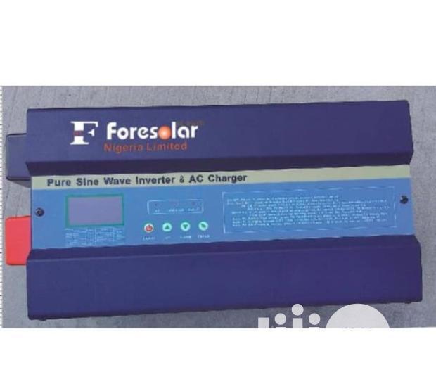 Foresolar 5kva 48v Pure Sine Wave Inverter With Inbuilt Charger