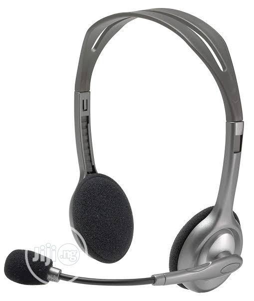 Logitech H110 Headset   Headphones for sale in Ikeja, Lagos State, Nigeria