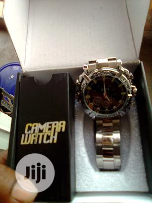 Spy Wrist Watch That Video And Record Water Proof | Security & Surveillance for sale in Lagos State, Ikeja