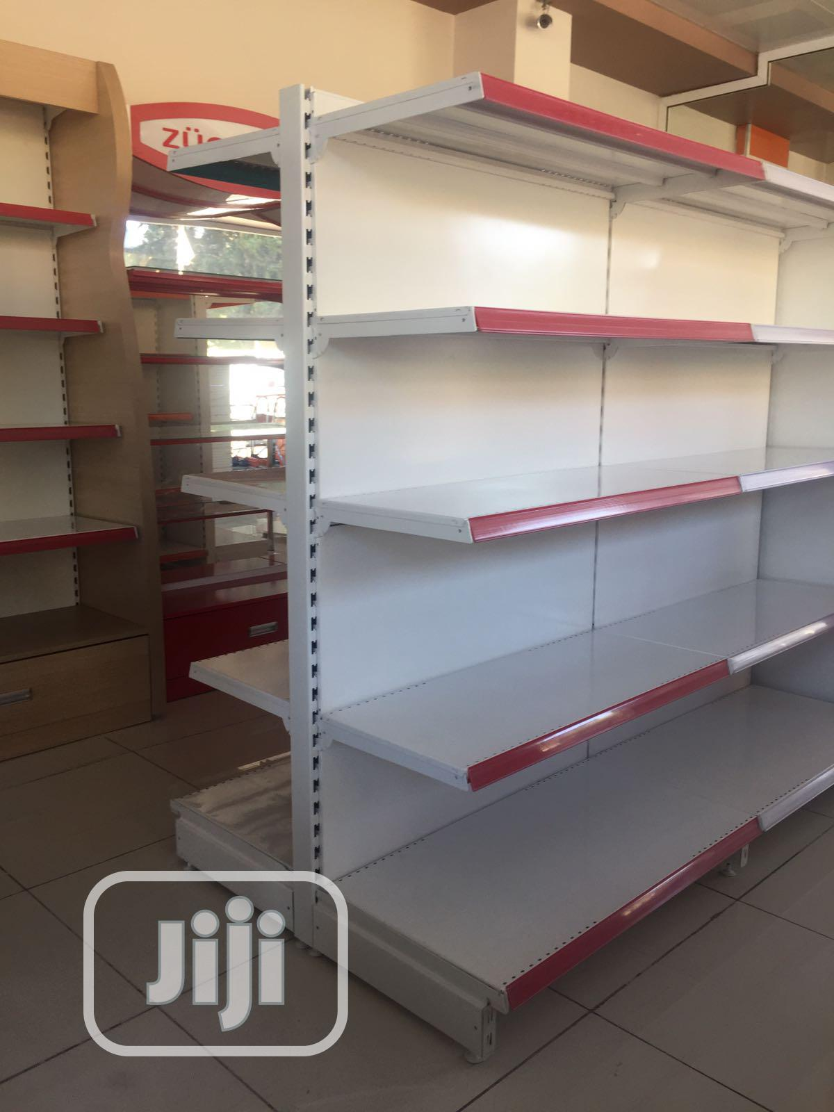Italian Metal Supermarket Shelves