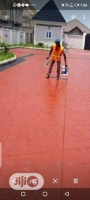 Concrete Stamping Design | Building & Trades Services for sale in Lagos State, Apapa
