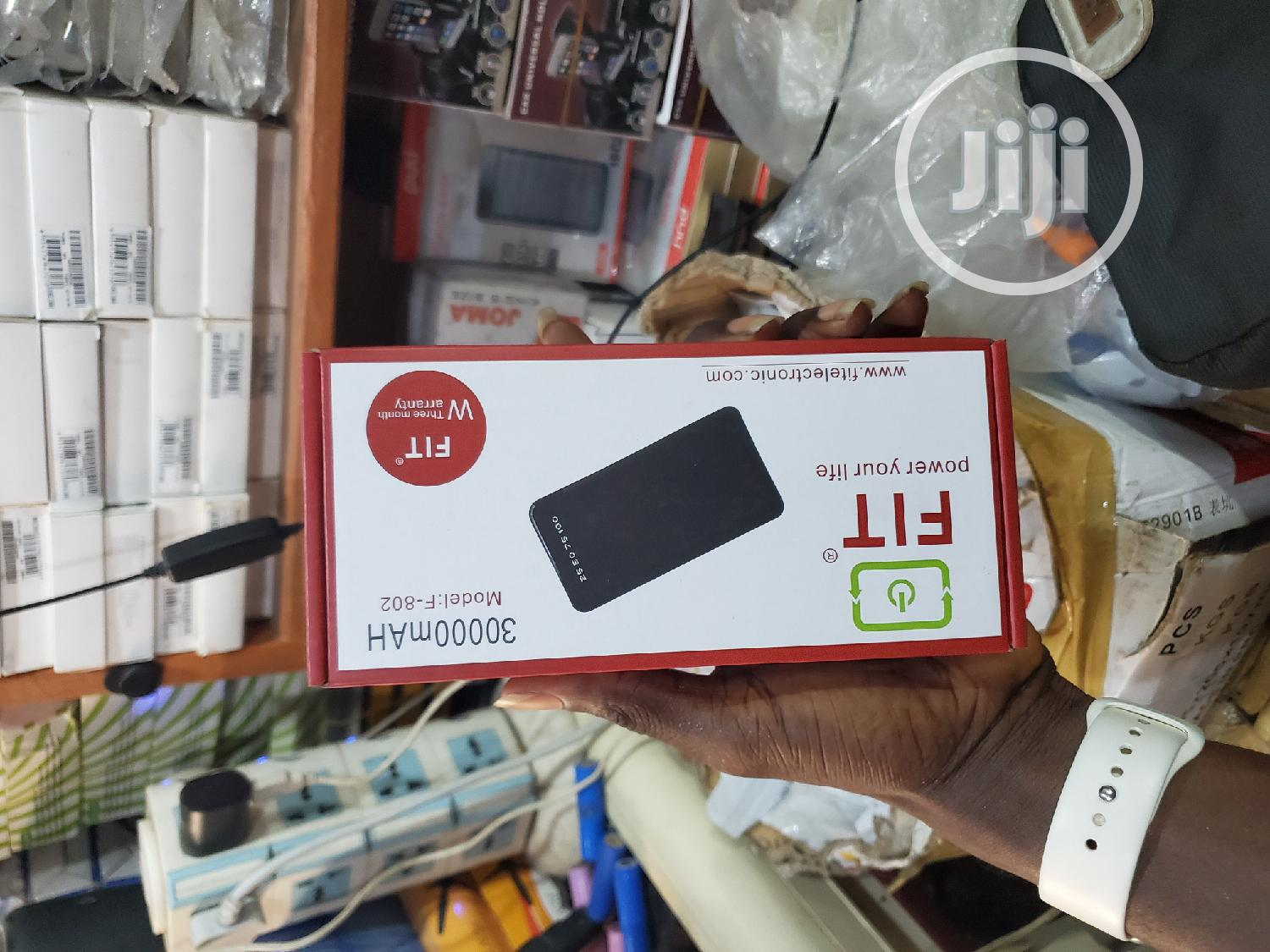 FIT 30000mah LED Fast Charging Powerbank   Accessories for Mobile Phones & Tablets for sale in Ikeja, Lagos State, Nigeria