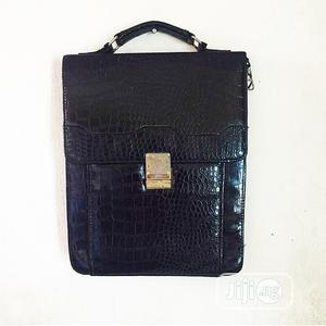 Black Leather Bag | Bags for sale in Lagos State, Surulere