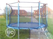 14feet Trampoline With Ladder | Sports Equipment for sale in Lagos State, Surulere