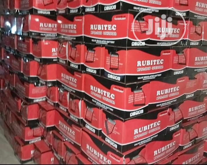 Archive: 200ah 12v Rubitec Battery