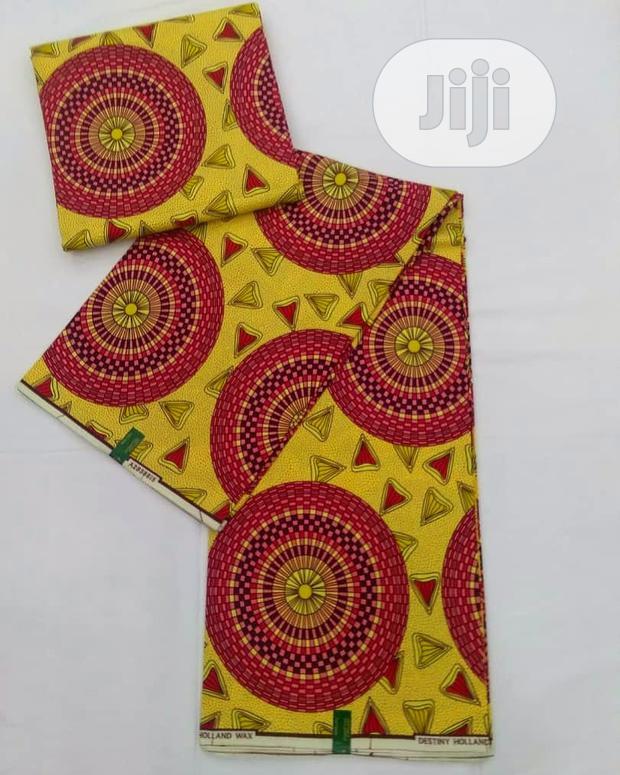 Archive: 6 Yards Ankara Fabric