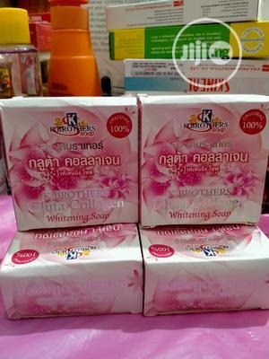 K Brother's Gluta Collagen Whitening Soap | Bath & Body for sale in Lagos State, Amuwo-Odofin