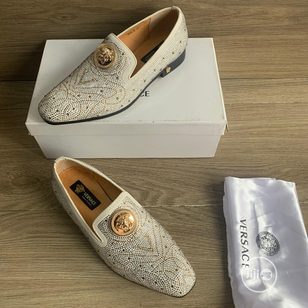 Archive: Versace Crystal Loafers Shoes for Men Available