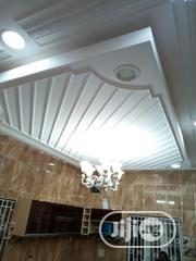 POP Cast Ceiling With Cornice And Rosette | Building & Trades Services for sale in Lagos State, Ajah