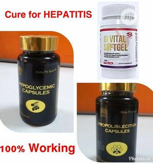 Combo(Permanent Cure For Hepatitis) | Vitamins & Supplements for sale in Oyo State, Egbeda