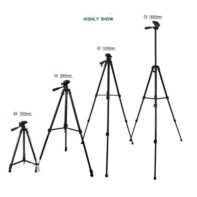 Quality Aluminum 5.24ft SLR DSLR Lightweight Camera Tripod | Photo & Video Cameras for sale in Ikoyi, Lagos State, Nigeria
