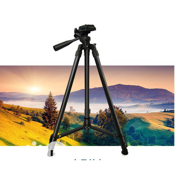 Quality Aluminum 5.24ft SLR DSLR Lightweight Camera Tripod