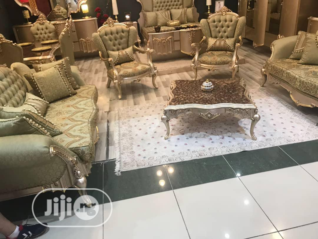Archive: Set of Royal Sofa With Center Table
