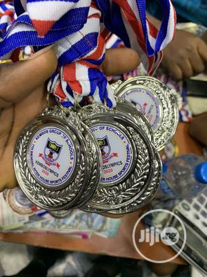 Sports Award Medal With Print   Arts & Crafts for sale in Lagos State, Agboyi/Ketu