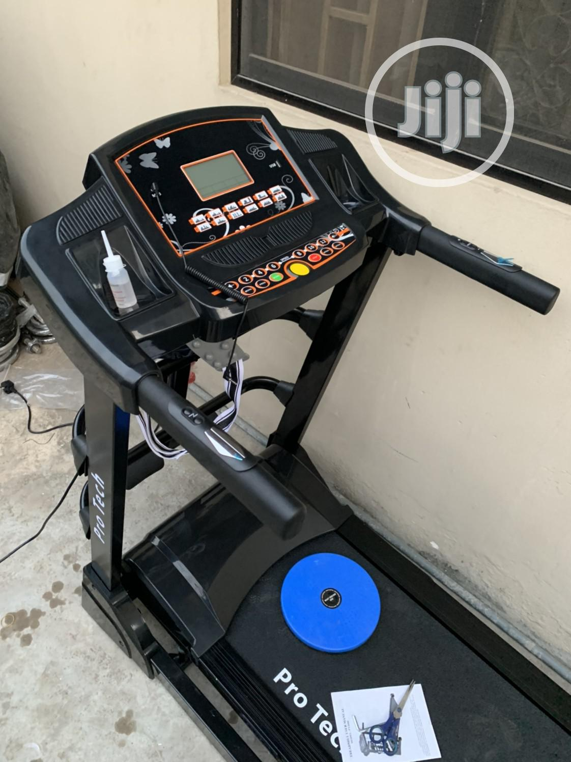 2.5hp Motorized Treadmill With Massager | Sports Equipment for sale in Utako, Abuja (FCT) State, Nigeria
