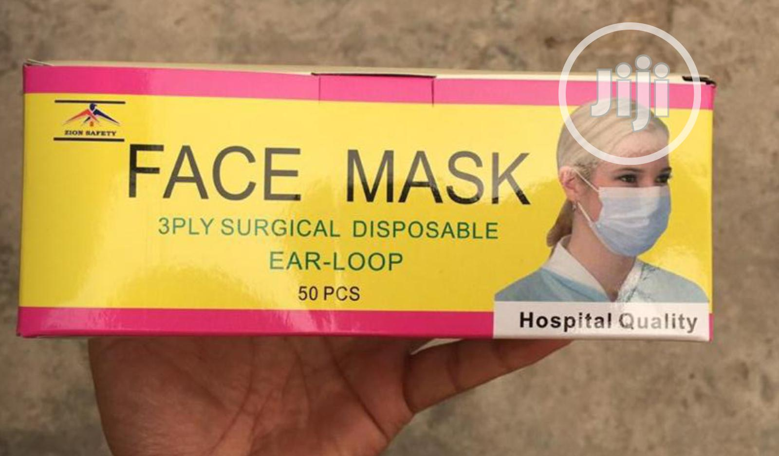 3 Plyface Mask | Tools & Accessories for sale in Lagos Island (Eko), Lagos State, Nigeria