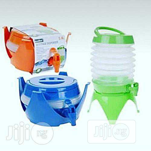 Collapsible Dispenser For Juice