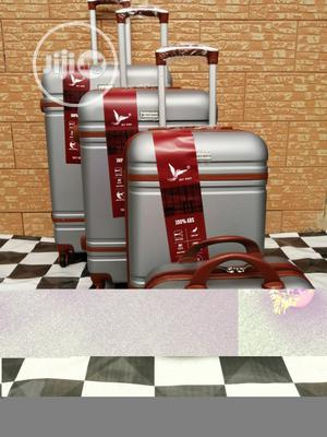 Silver Color Luggage Bags (4 Sets) For Compact Traveling | Bags for sale in Lagos State, Ikeja