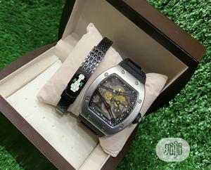 Classic Richard Mille Wristwatch With Exclusive Bracelet | Watches for sale in Lagos State, Lagos Island (Eko)
