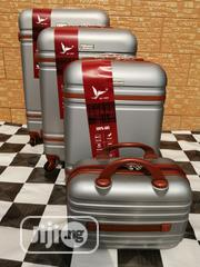 4 Wheels Cool Silver Color Trolley Luggage Bags (4 Sets) | Bags for sale in Lagos State, Ikeja