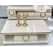 Exotic Tv Stand 1.5m And Center Table | Furniture for sale in Lagos State, Victoria Island