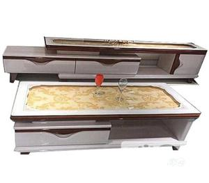 Classic Glass Top Tv Stand And Table 1.5m
