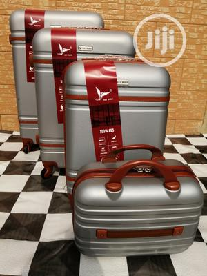 Etiquette Silver Color Trolley Luggage Bags (4 Sets) For Sale | Bags for sale in Lagos State, Ikeja