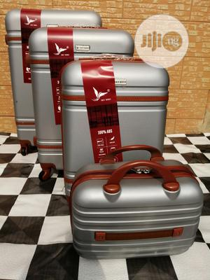 Cute Silver Color Travel Suite Case Luggage Bags (4 Sets) | Bags for sale in Lagos State, Ikeja