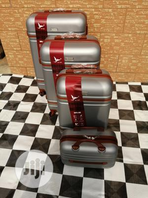 Travel Luggage Bags (4 Sets) Of Silver Color For Internationals | Bags for sale in Lagos State, Ikeja