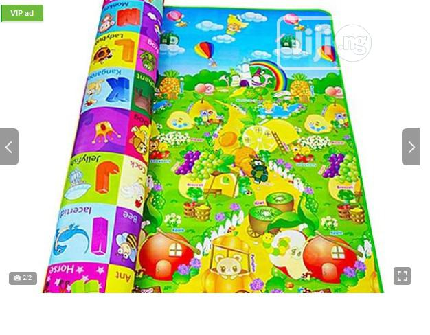 Large Size - 2 Sided Baby and Children Crawling, Reading