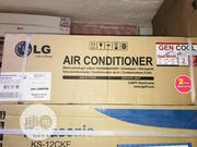 1 HP LG Inverter Air Conditioner Available With 1yr Warranty | Home Appliances for sale in Lagos State, Ojo