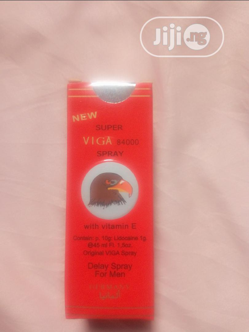 Viga 84000 (Long Lasting Spray For Men) | Sexual Wellness for sale in Egbe Idimu, Lagos State, Nigeria