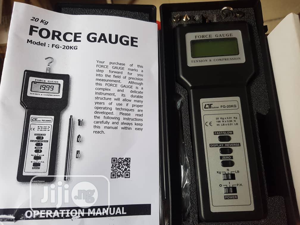 Force Guage Meter
