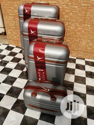 4 Sets Silver Color Fancy Luggage Bags | Bags for sale in Lagos State, Ikeja