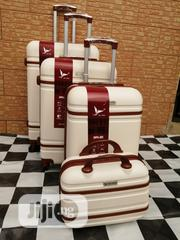 Cool Cream Color Trolley Luggage Bags (4 Sets) | Bags for sale in Lagos State, Ikeja