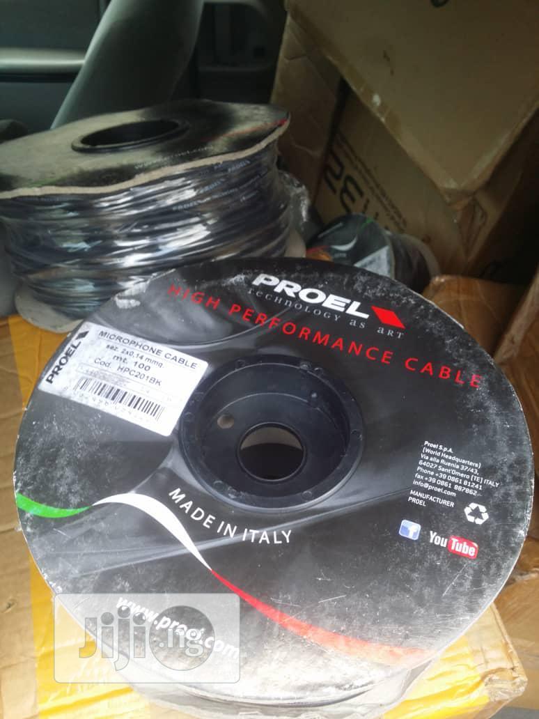 Original Proel Mic Cable