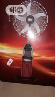 "Sonik 18"" Rechargeable Water/Mist Fan With LED Light Remote Control 