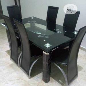 Glass Top Dining Table(213)   Furniture for sale in Lagos State, Lagos Island (Eko)