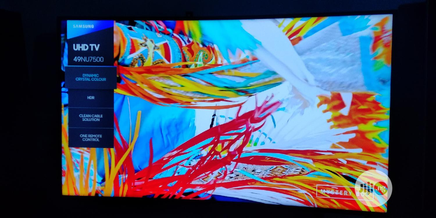 Archive: 49 Inches Samsung Curve Smart Uhd 4K Hdr Tizen OS TV