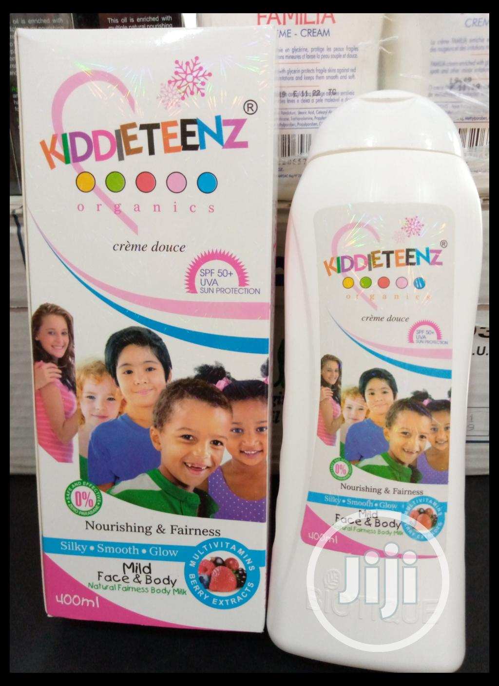 Kiddies Teens Organic Nourishing and Fairness Face Body Baby Lotion