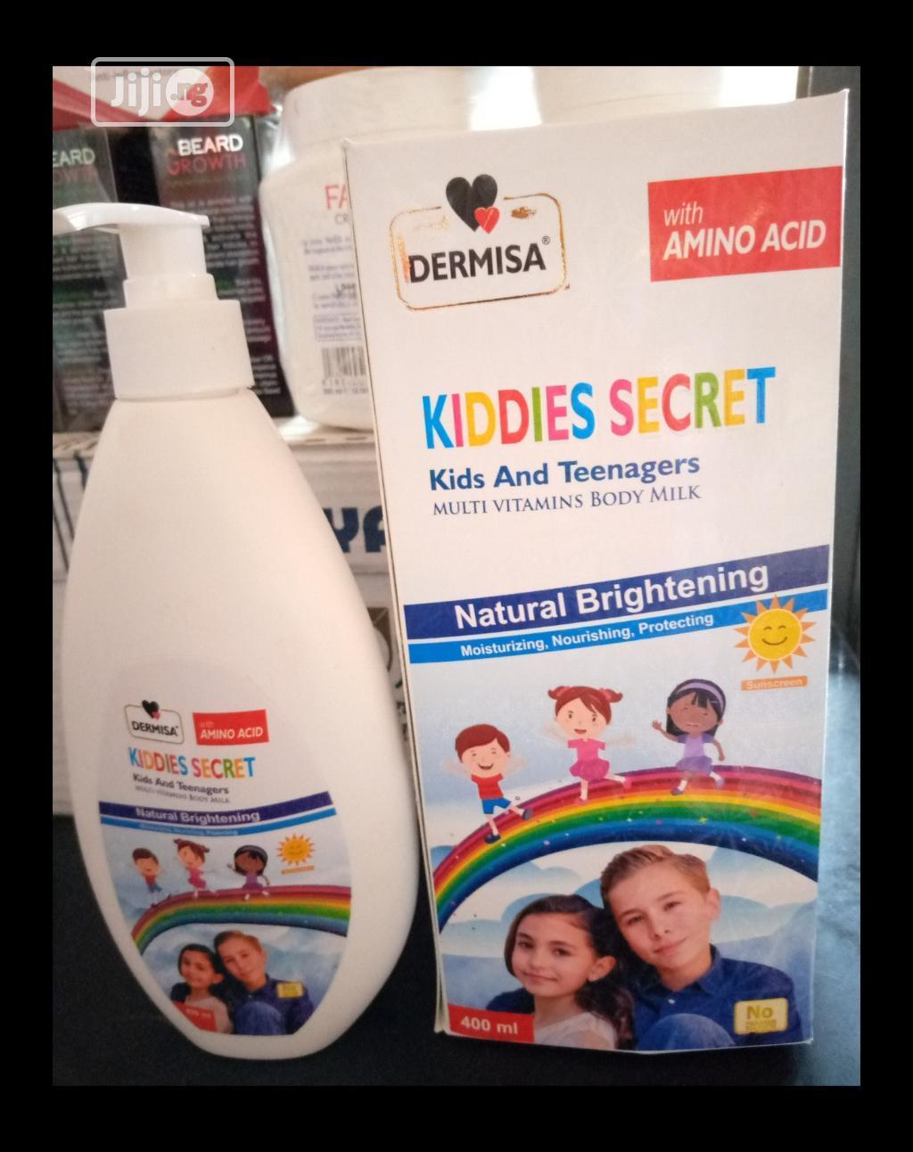 Kiddies Secret Kid's and Teens With Multi Vitamins Body Milk