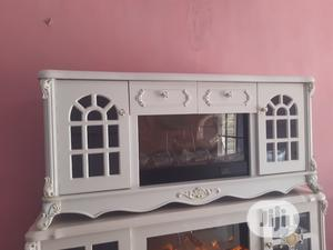 Tv Stand With Fireworks   Furniture for sale in Lagos State, Ojo