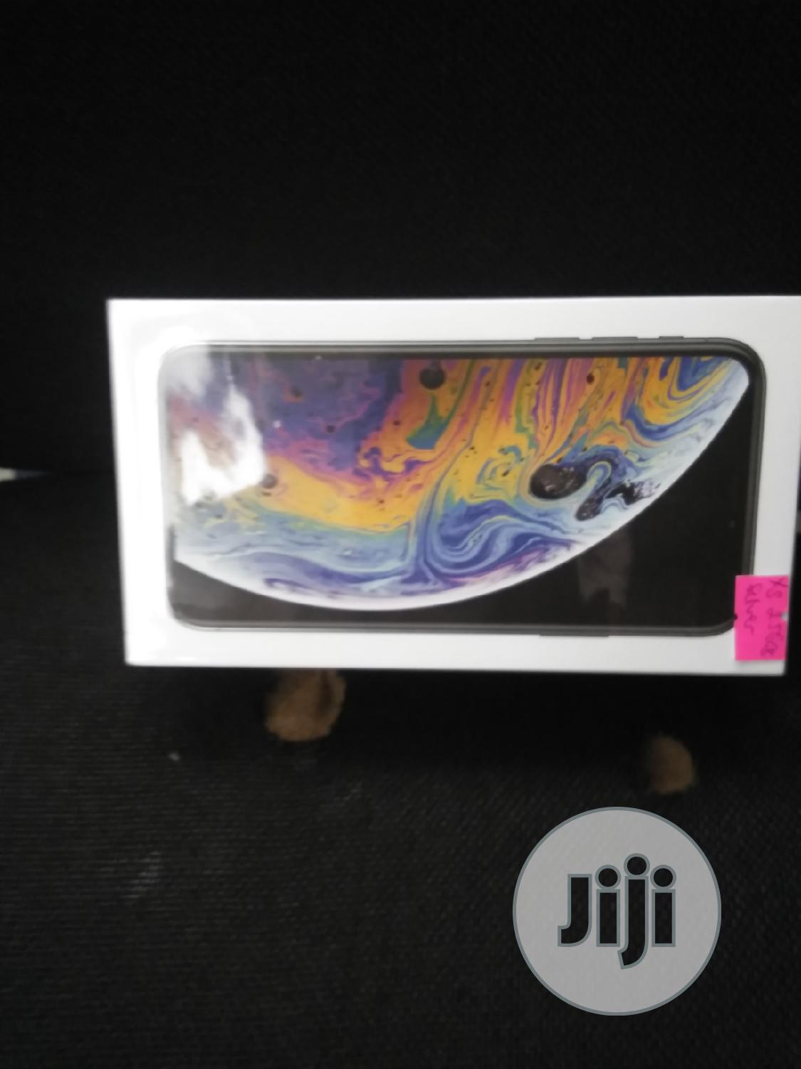 New Apple iPhone XS 256 GB Silver   Mobile Phones for sale in Ikeja, Lagos State, Nigeria