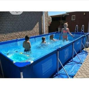 Intex 15ft Long By 7ft Wide Metal Frame Pool(30inchies Deep)   Sports Equipment for sale in Abuja (FCT) State, Central Business Dis