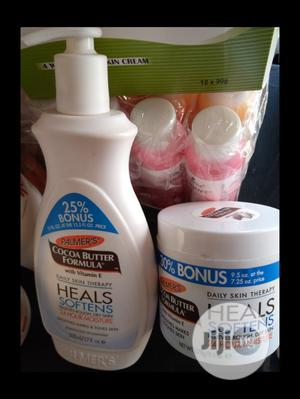 Palmers Cocoa Butter Lotion and Cup Cream With Vitamin E